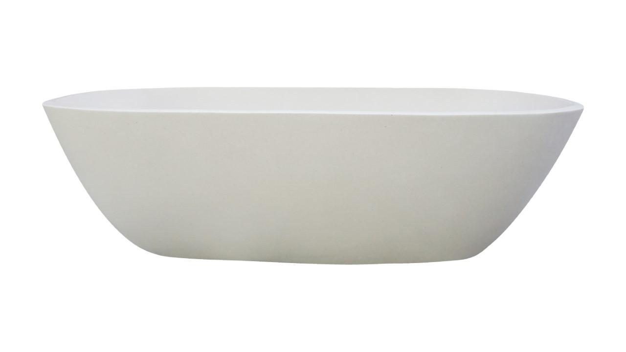 Freestanding Stone Bath Tub White Renovator Auctions